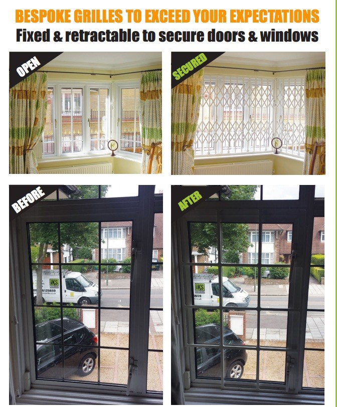bespoke security grilles north london