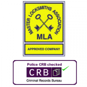 MLA locksmith CRB checked