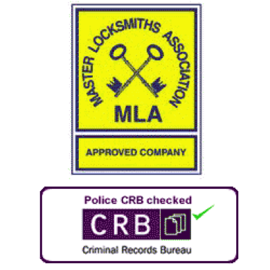 MLA Apporved Locksmiths and CRB checked