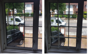 security grilles before and after