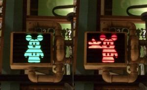 Mickey traffic lights DIY lock change?