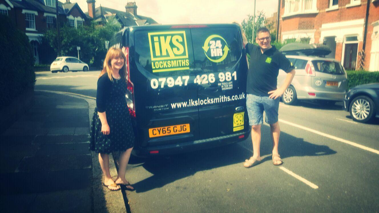IKS locksmiths family business in North London