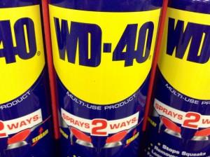 wd40 for doors
