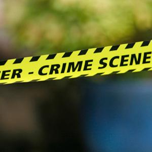break in crime scene
