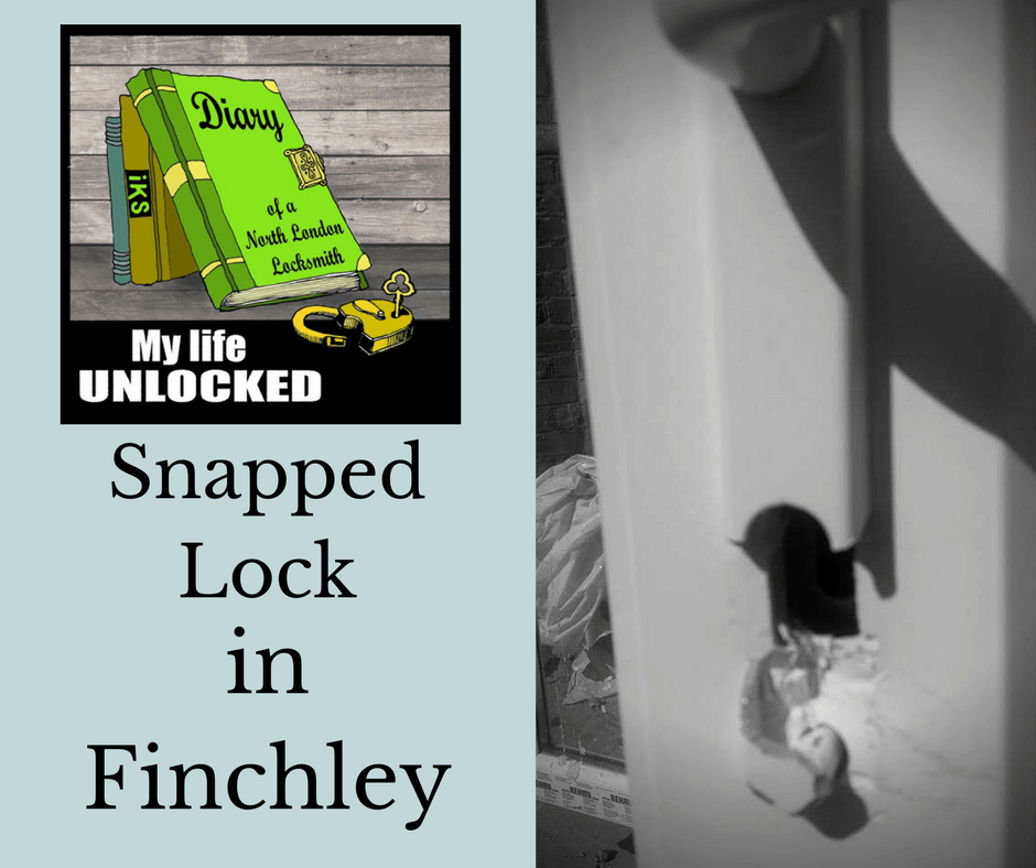 broken lock burglary finchley