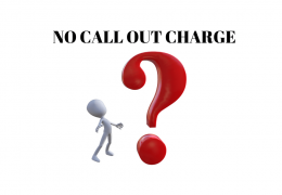 what does no call out charge mean?