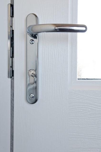 fixed upvc door lock