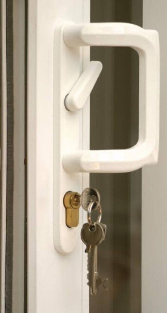 key in upvc lock security