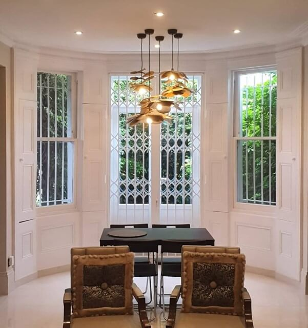 patio door security grilles