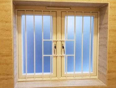 Bespoke Window Bars open window