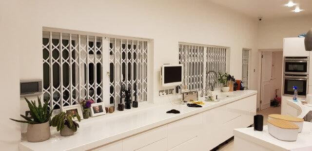 Retractable Window Gate in Finchley