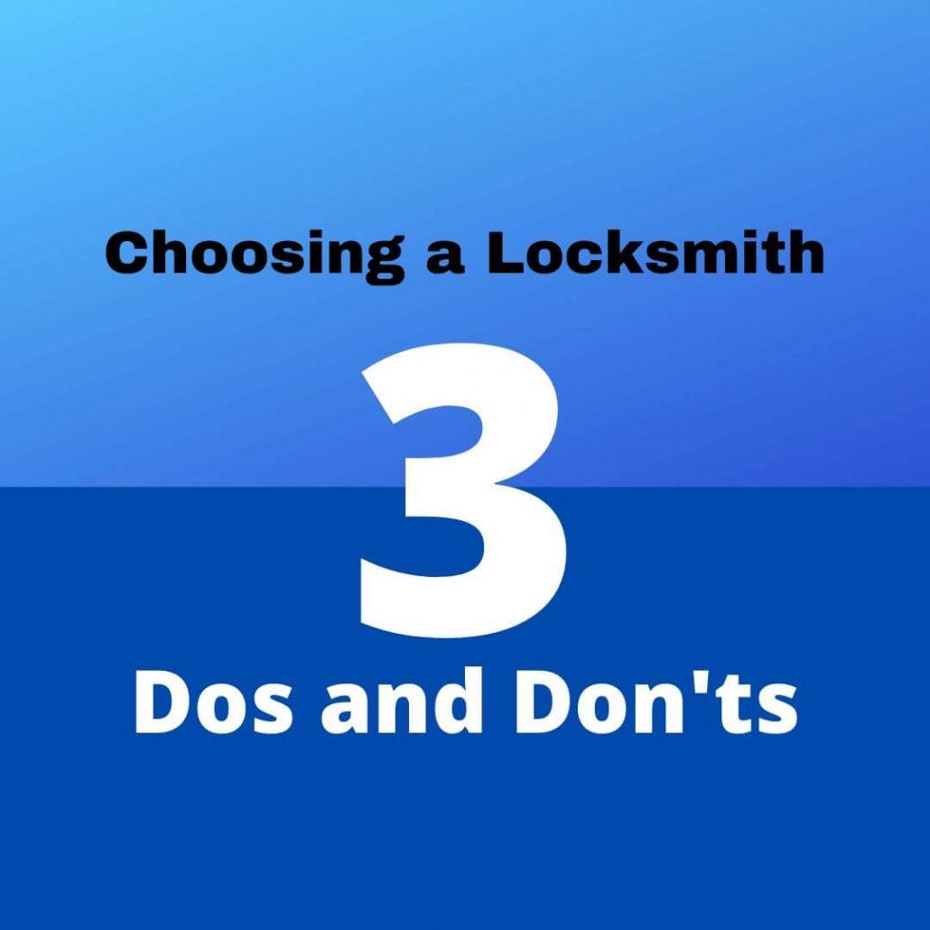 choosing a locksmith