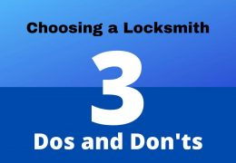 choosing a locksmith