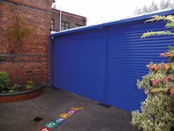 exterior shutter installation