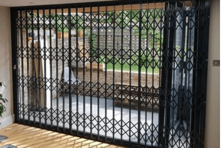 security grilles installed in Finsbury Park (north london)