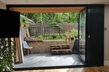 Folding Security Grilles for Patio Doors