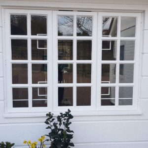 security grille installed on window