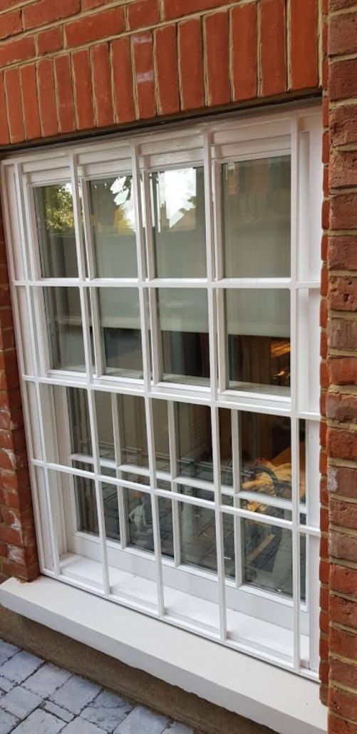 fixed window security bars