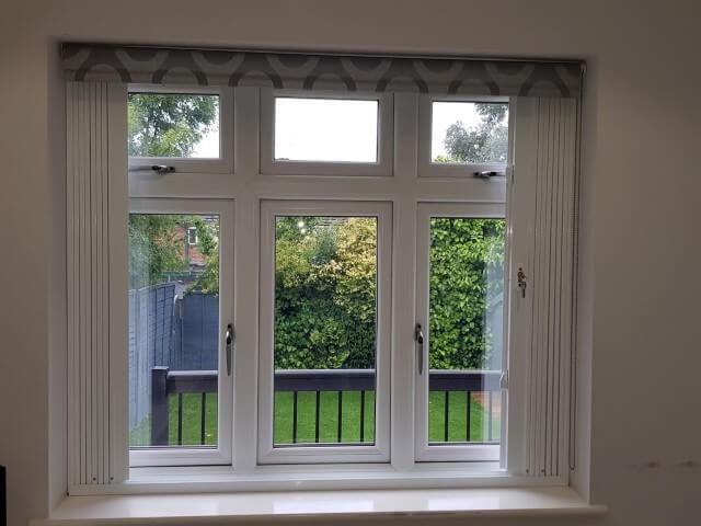 window security locks installed in house