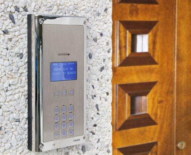 Videx digital door entry system