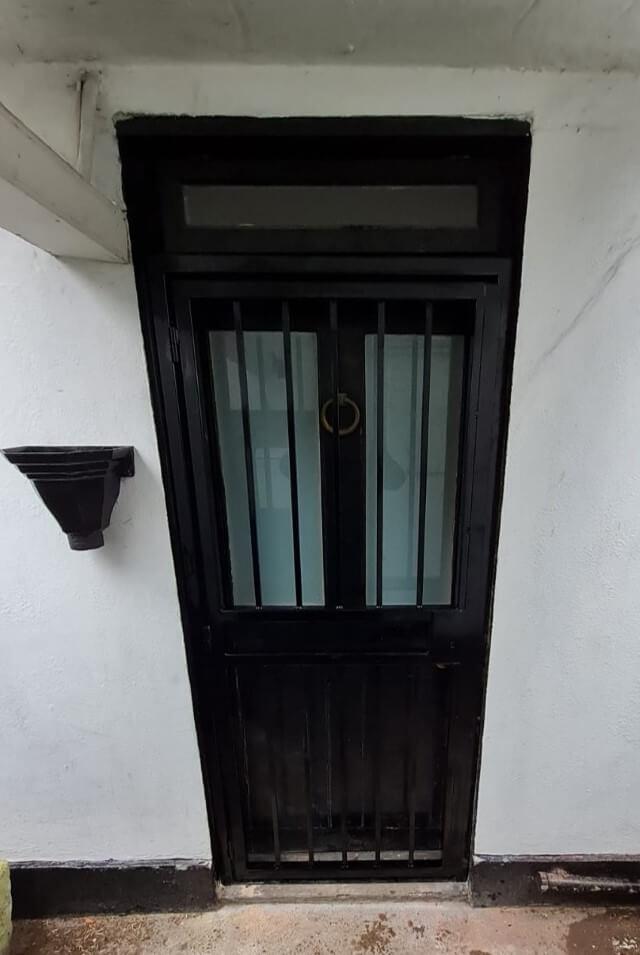 basement door security grilles